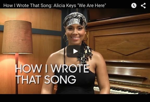 Alicia Keys | We Are Here | How the song was constructed