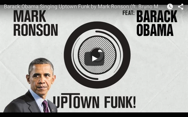 Barack Obama ft Bruno Mars – Uptown Funk