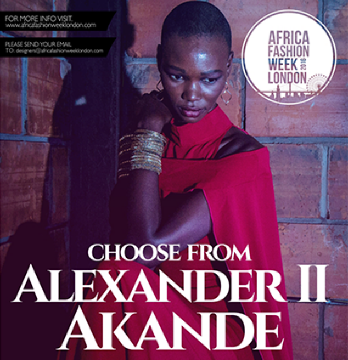 Alexander II Akande To Showcase Collection At Africa Fashion Week London