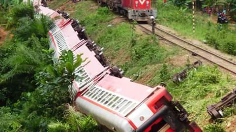 Yaounde, Eseka train disaster.