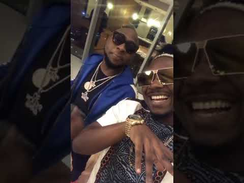 Video:Is Stanley Enow up to something with Davido?