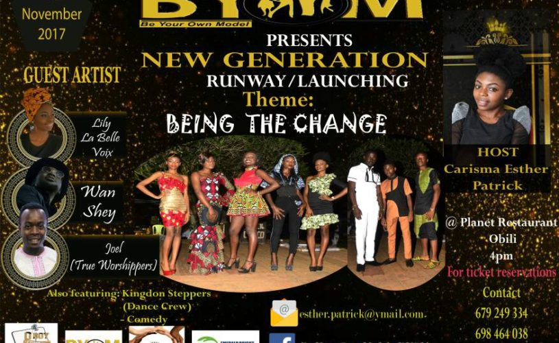 Event: BYOM CEO,Carisma Esther Patrick presents to you BYOM launching and a Runway Show This November in Yaoundé