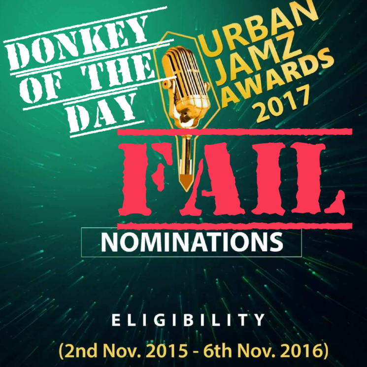 Urban Jamz Award 2017 Gets Donkey of the Day