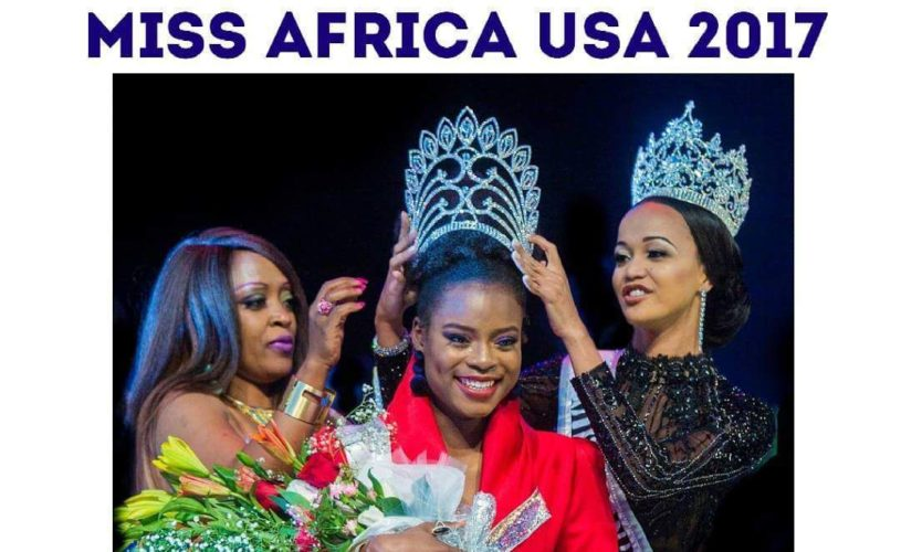 Newest Cameroonian Model, Corinne Missi emerge as Miss Africa USA