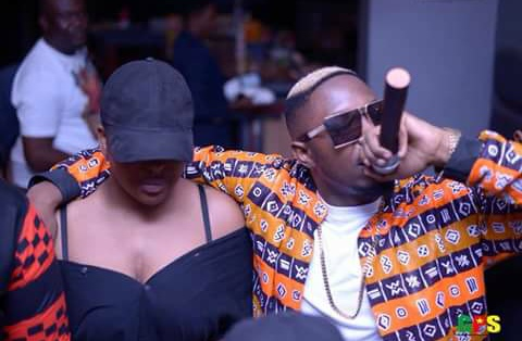 Does Stanley Enow really have a female as a his Body Guard?