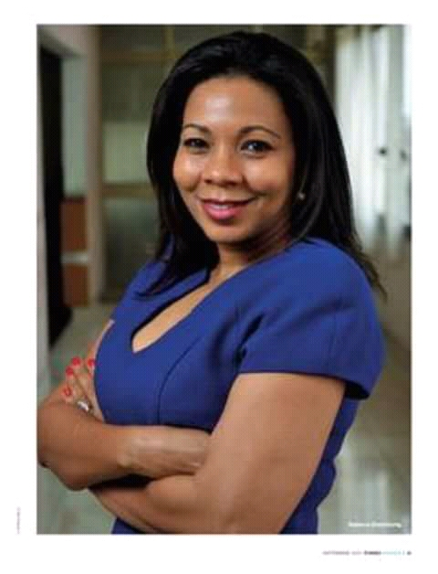 """""""To be an entrepreneur in Africa you must be raving mad""""Rebecca Enonchong"""