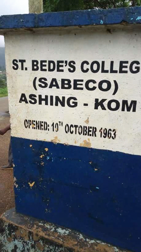 The Principal of st Bede's college of Ashing Kom, Rev William Neba has not been release.