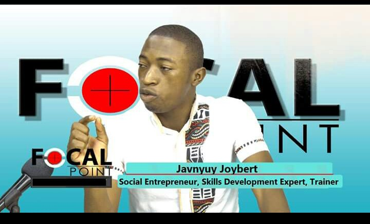 Meet Javnyuy Joybert. A great Cameroonian entrepreneur. Young and dynamic