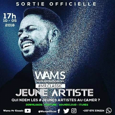 "New Mutumbu: Wams drops the visuals of his inspirational track ""Jeunes Artiste"". Watch"
