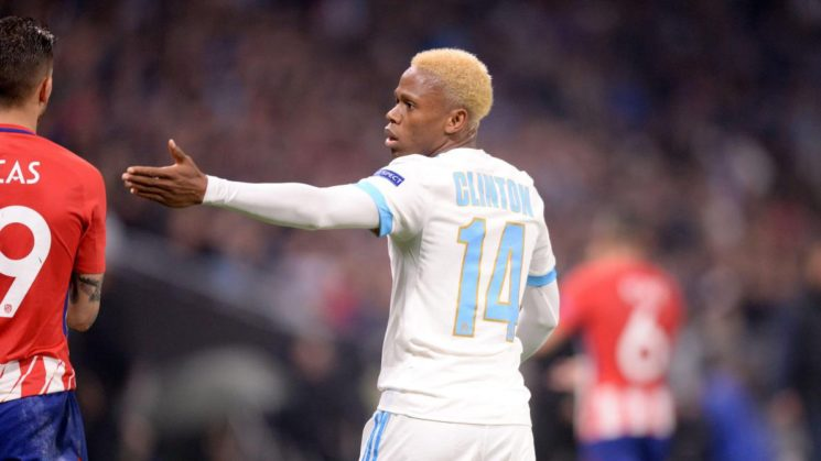 International striker Clinton Njie punched and humiliated by a Military officer in Buea.
