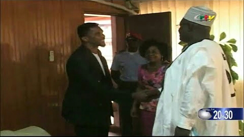 Video:Mrs Nalova Lyonga invites Samuel Eto'o to the North West and South West.