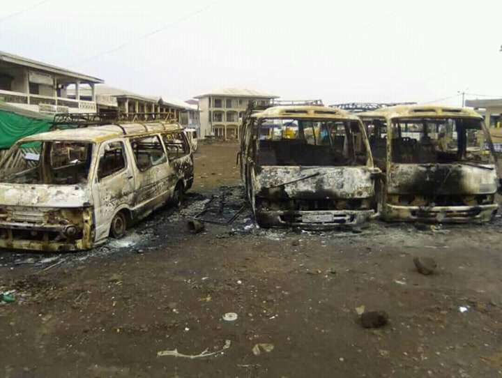 Images: Aftermath of Monday attacks in Buea, Bamenda and Kumba.