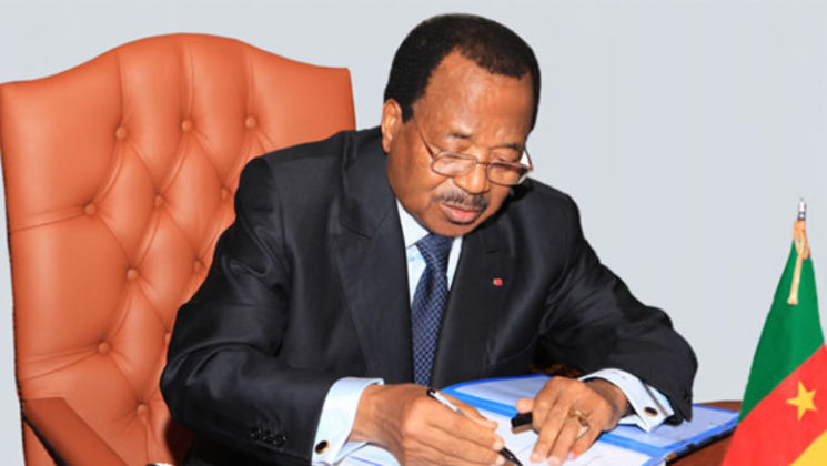 Breaking news: President Paul Biya set date for 2018 presidential election.