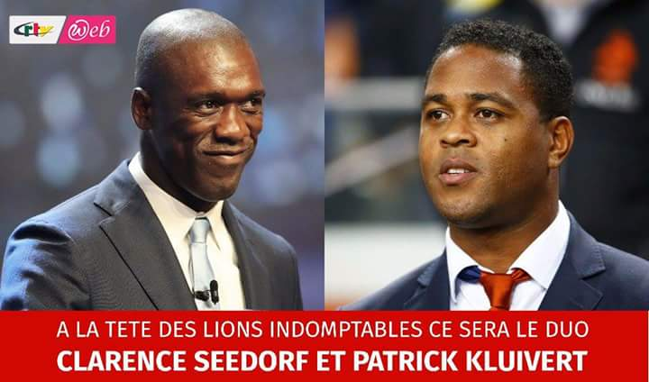Dutch Man Clearance Seedorf is Cameroon's new Head Coach, assisted  by Patrick Kluivert.