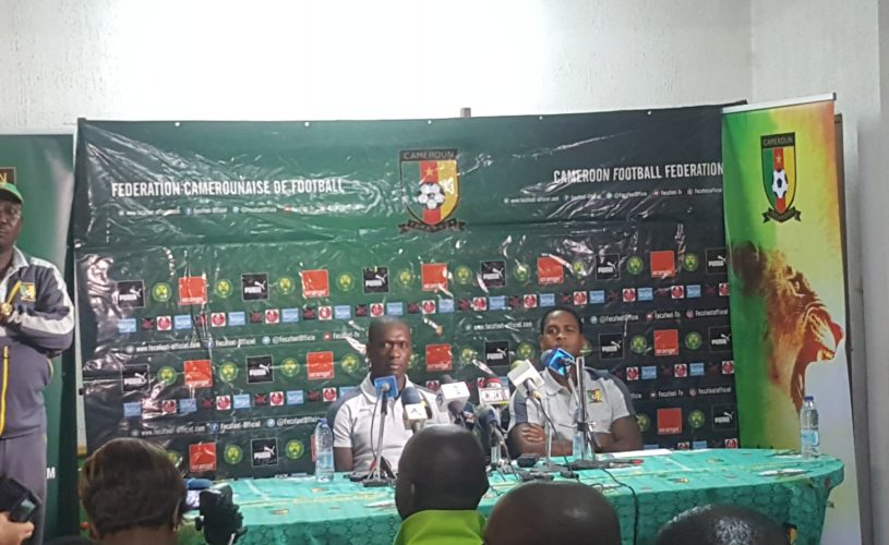Clarence Seedorf and Patrick Kluivert drops the list of 23 players to face Comoros Island without Bassogog and Njie Clinton.