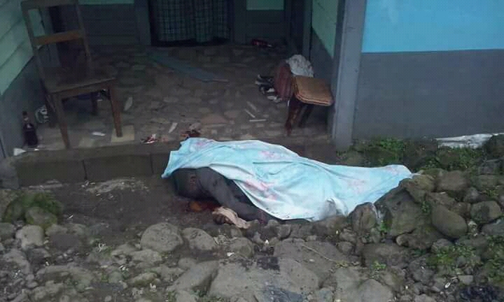 Breaking/Images: Seven killed by Soldiers in Buea.
