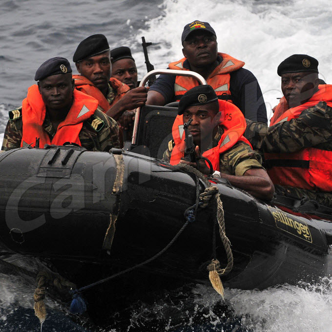 Cameroon's Navy intercepts three boats carrying war material and 43 suspects in Bakassi.