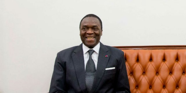 Breaking: Minister of Defence Collapses in a Ceremony in Yaounde.