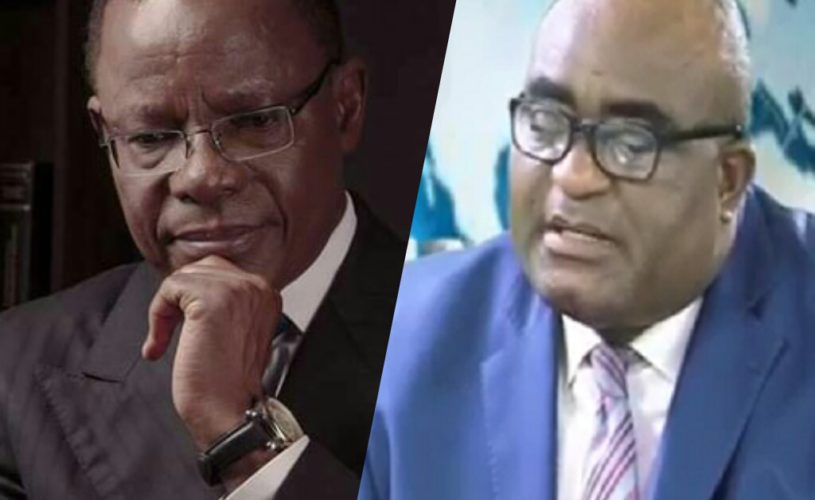 Video: Maurice Kamto drags Prof Messanga Nyamding to court after he accused him of Homosexuality.