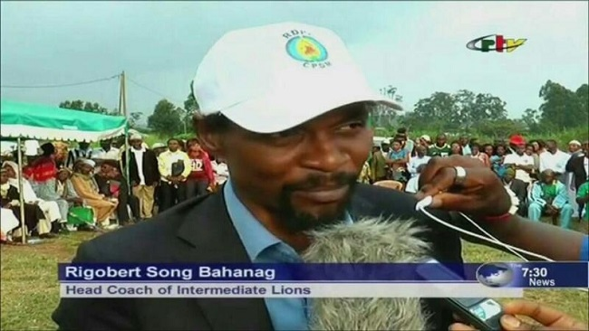 """I support President Paul Biya 100%"" Rigobert Song"