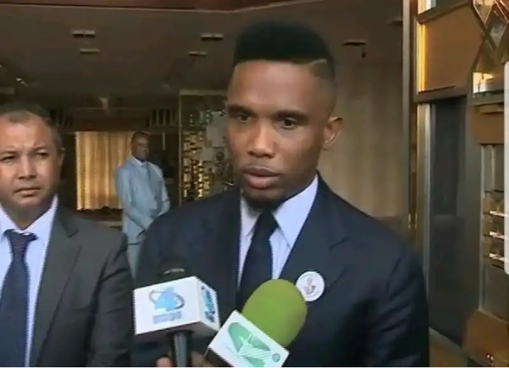 "Presidential Election: ""I am going to vote for President Paul Biya"" Samuel Eto'o's choice is the force of experience."